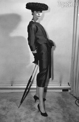 Модель Кристиана Диора. 1955 г.