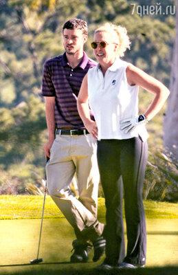 «Мама для меня — незыблемый авторитет, ангел-хранитель и... партнерша по гольфу!»