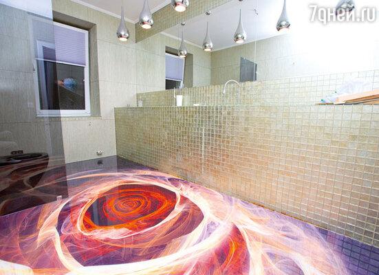 В этом помещении Люба планирует устроить санузел для гостей