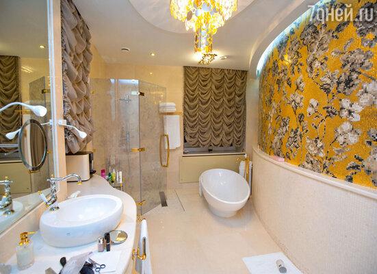 Ванная хозяйки дома