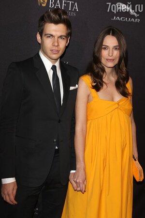 Кира Найтли с мужем