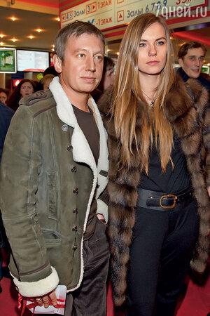 Михаил Трухин с женой
