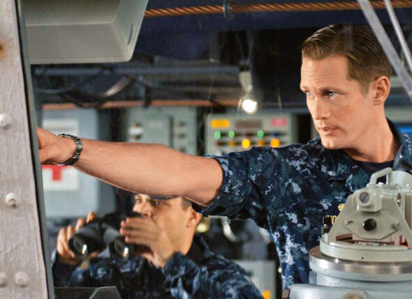 Кадр из фильма «Морской бой»