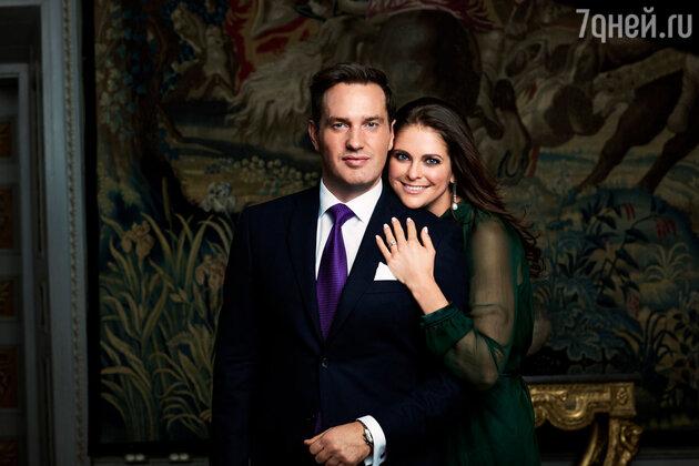 Принцесса Мадлен и Крис О'Нилл