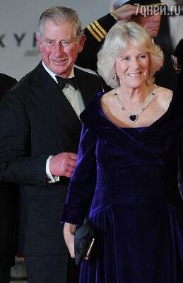 Принц Уэльский Чарльз и его жена Камилла Паркер-Боулз