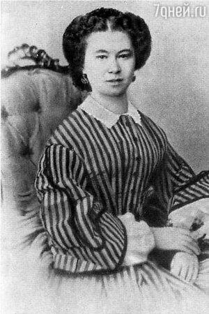 Жена Менделеева