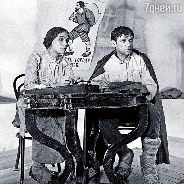 Нина Русланова и Петр Вельяминов