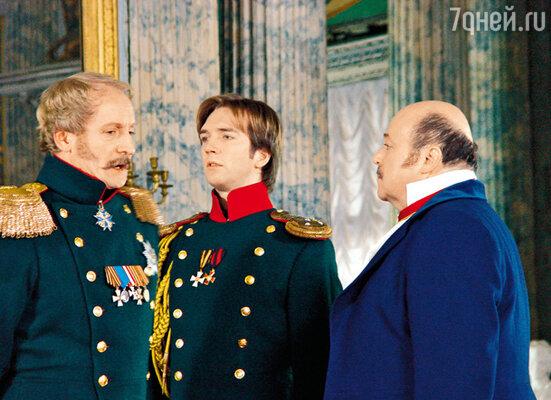 После сериала «Бедная Настя» Петру стали предлагать роли романтических героев... 2003 г.