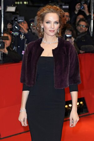 Ума Турман на Берлинском кинофестивале, 2014