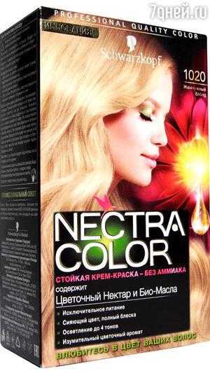 Стойкая крем-краска для волос без аммиака Nectra Color от Schwarzkopf