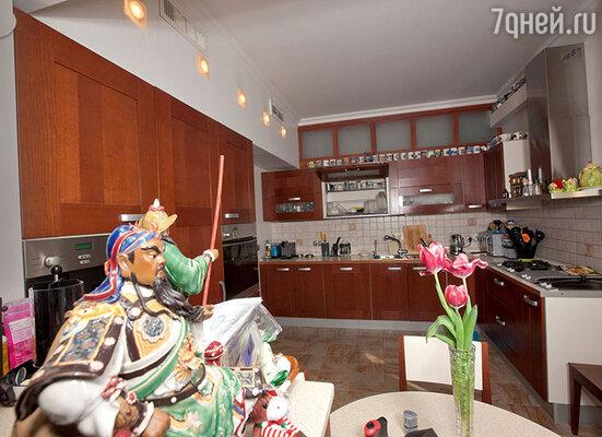 «Хотя к плите я подхожу нечасто, большая просторная кухня всегда пригодится»