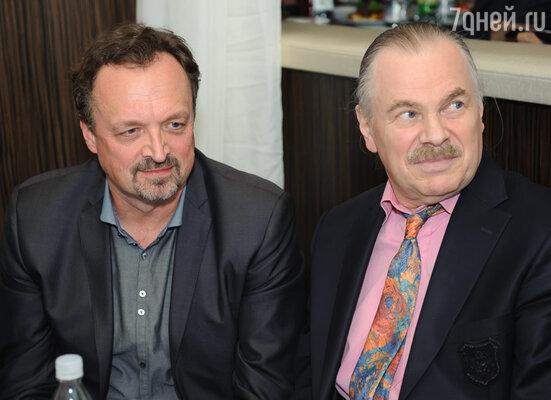 Виктор Гусев и Владимир Пресняков-старший