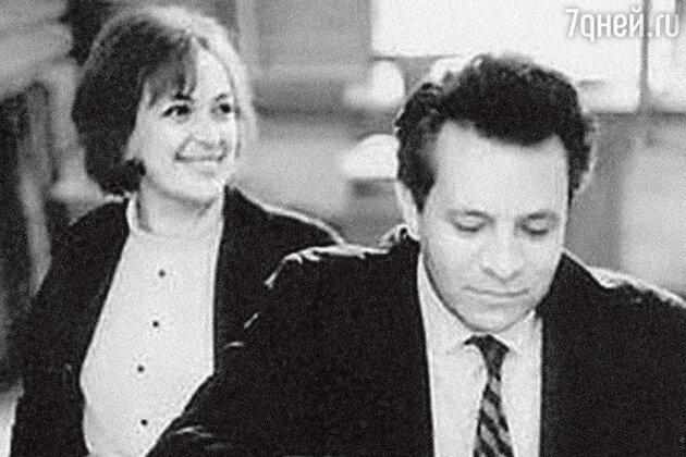 Клара Лучко с Дмитрием Мамлеевым. 1980-е гг.