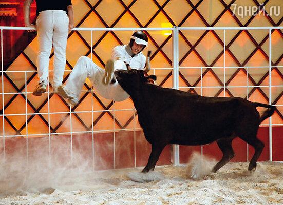 Алексей Воробьев серьезно пострадал в битве с быком