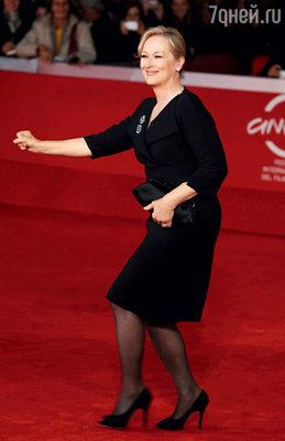 Мерил Стрип. Рим, 2009 г.
