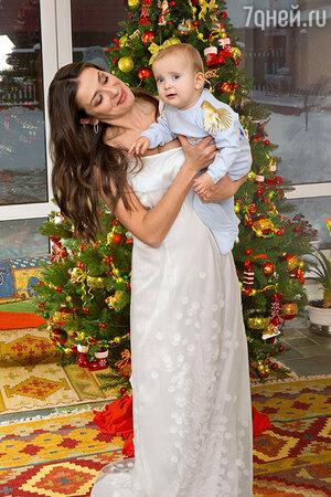 Мария Ситтель с сыном Колей