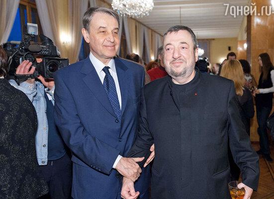 Александр Авдеев и Павел Лунгин