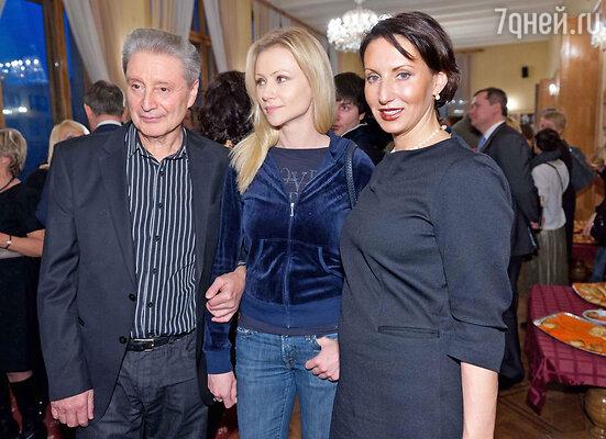 Вениамин Смехов, Мария Миронова, Алика Смехова