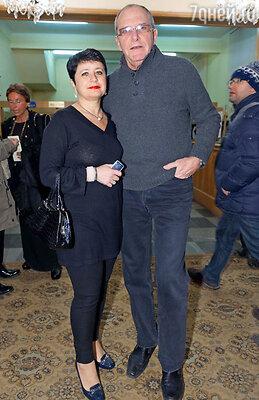 Эммануил Виторган с женой