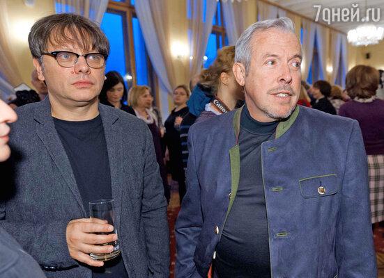 Валерий Тодоровский и Андрей Макаревич
