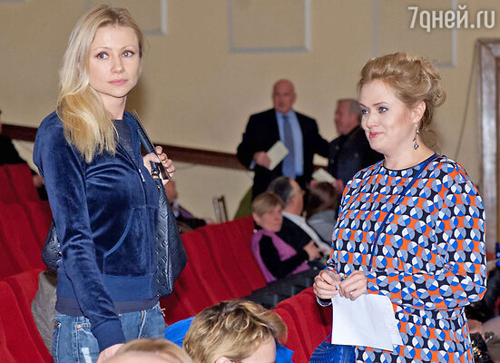 Мария Миронова и Анна Михалкова