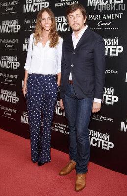 Андрей Фомин с подругой
