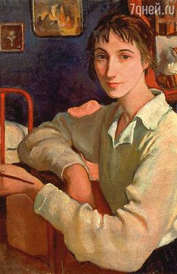 Зинаида Серебрякова. Автопортрет, 1922 год