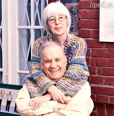 Эльдар Рязанов и его жена Эмма