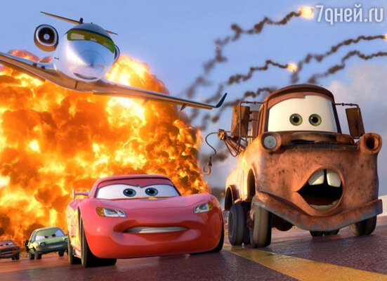 Кадр мультфильма «Тачки 2»