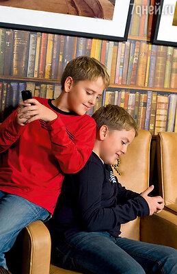О том, что произошло  между мной и Денисом,  дети узнали из прессы