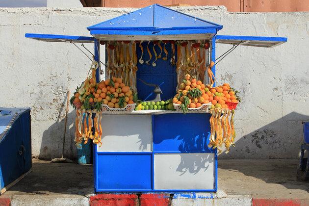 апельсиновый сок в Марракеше