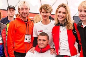 Звезды приняли участие в благотворительном забеге фонда Натальи Водяновой