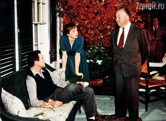 Хичкок в середине съемок фильма «Неприятности с Гарри» вдруг обнаружил, что его главная героиня растолстела чуть ли не вдвое, и тотчас посадил Ширли на жесточайшую диету, 1955 год