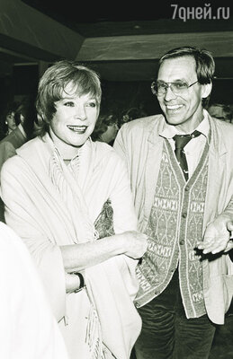 В середине 80-х Ширли пережила короткий и бурный роман с русским режиссером Андроном Кончаловским