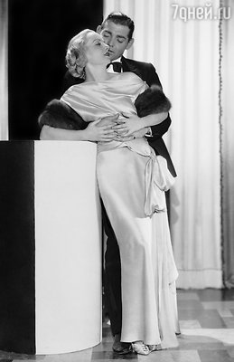 Кэрол Ломбард была третьей женой Кларка Гейбла