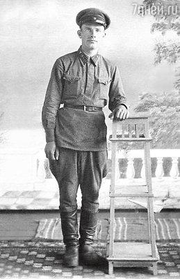 Дедушка Василий Иванович Гусев. Июнь 1942 г.