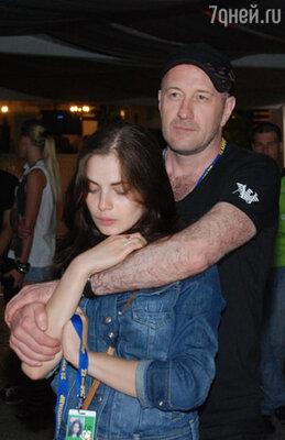 Юлия Снигирь с мужем Максимом