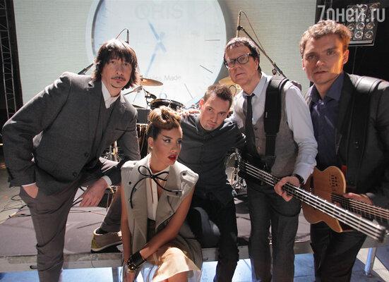 Музыканты группы «А-Студио» приняли участие в съемках клипа на заглавную композицию фильма Дениса Алексеева «Бригада: Наследник»