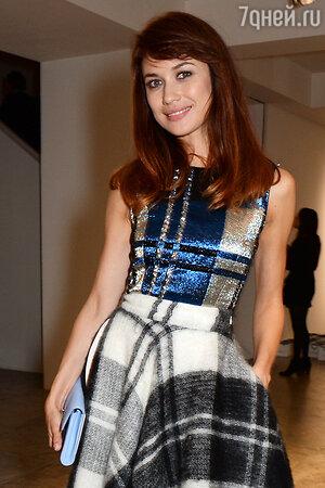 Ольга Куриленко в наряде от Christian Dior