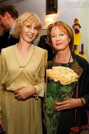 Мария Соломина и Лариса Удовиченко