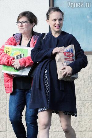 Натали Портман с мамой