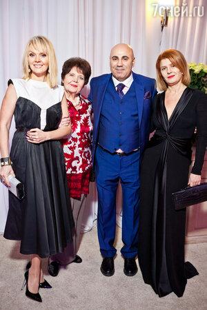 Валерия с мамой Галиной Николаевной, Иосиф Пригожин на праздновании дня рождения Иосифа Пригожина