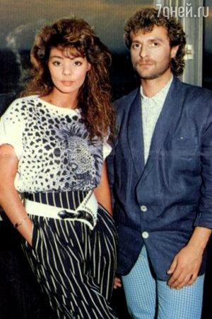 Сандра с бывшим мужем Мишелем Крету