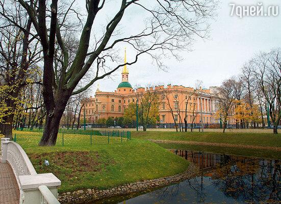 Cанкт-Петербург. Вид на Михайловский замок
