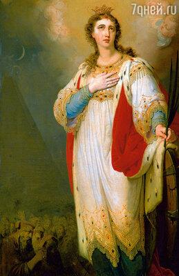 Как-то картины Боровиковского, написанные в честь императрицы, попались на глаза самой Екатерине II и заслужили ее высокую оценку. (Фото репродукции картины В.Л. Боровиковского «Св. Екатерина», 1804-1809 гг.)