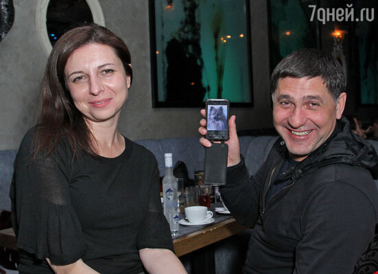 Алиса Хазанова и Сергей Пускепалис