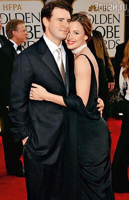 Брак со Скоттом Фоули продержался три с половиной года. Нацеремонии «Золотой глобус». 2003 г.