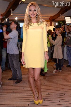 Виктория Лопырева на церемонии «Золотой глобус»