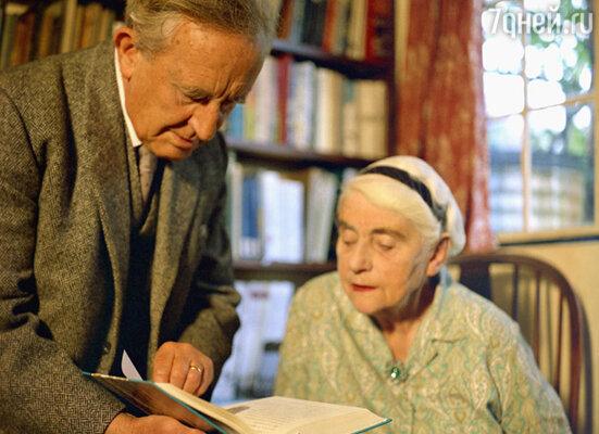 Супружеская жизнь у Эдит и Рональда складывалась непросто. Они решительно во всем оказались антиподами