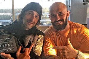 Обладатель «Оскара» Эдриан Броуди и русский рэпер Джиган отдохнули на яхте